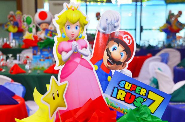 Irus' Super Mario Themed 7th Birthday, Philippines
