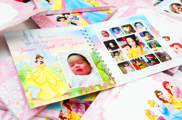 Here Are Scrapbook Invitations Guestbook And Pillows That I Designed For Janaisas 7th Birthday