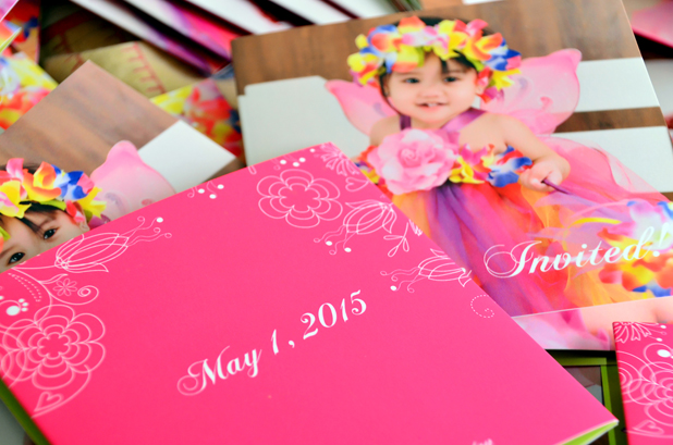 Ziana's Enchanted Fairy Garden Themed 1st Birthday Invitations, Philippines. Posted on July 11, 2016 July 15, 2016