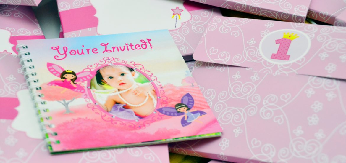 Ioannas Enchanted Fairy Garden Themed 1st Birthday Invitations Philippines