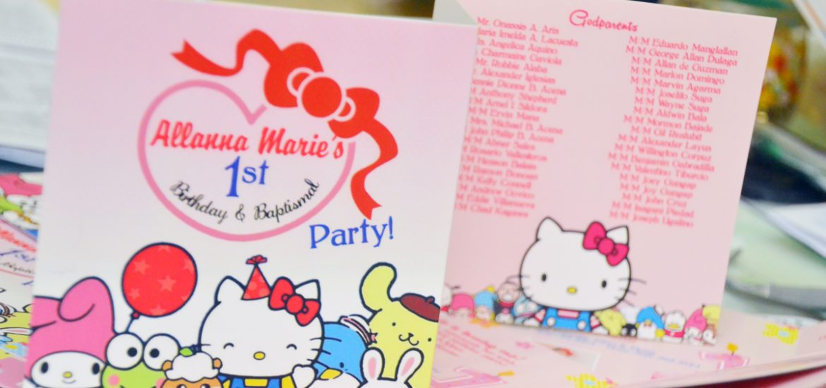 hello kitty themed invitations, hello kitty themed guestbook, personalized guestbook, sanrio themed party ideas, hello kitty themed party ideas, hello kitty invitations usa