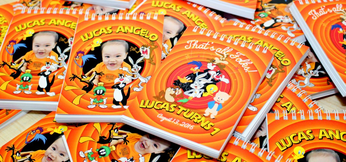 Lucas Looney Tunes Themed Birthday Invitations By Dianne Tan