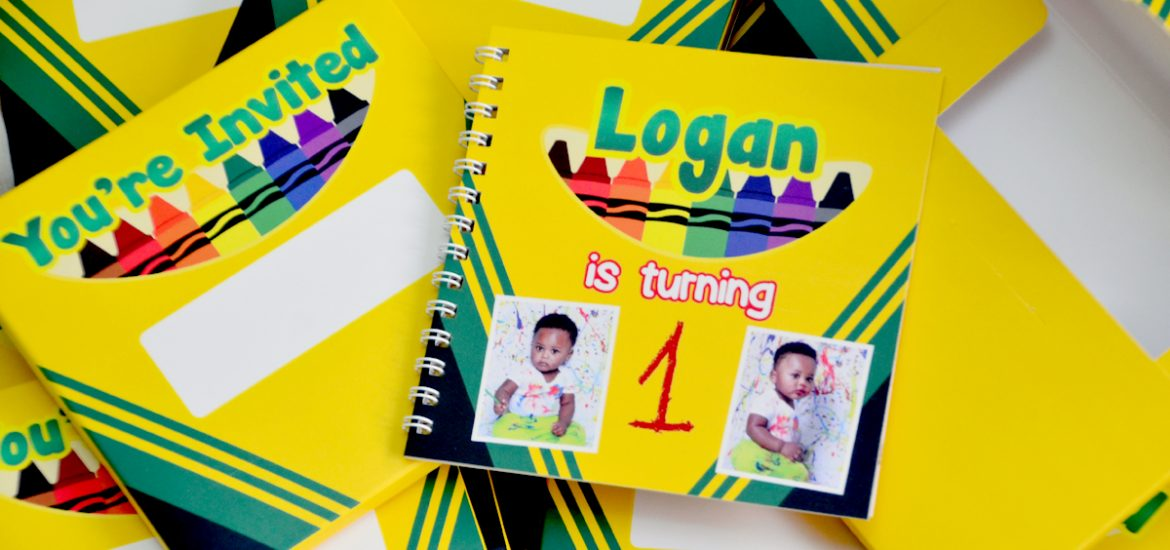 crayola themed invitations, crayola favor boxes, crayola themed birthday, crayola themed party ideas, crayola invitations,