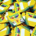 crayola themed invitations, crayola birthday invitations, crayola themed birthday, crayola invitations, crayola favor boxes,